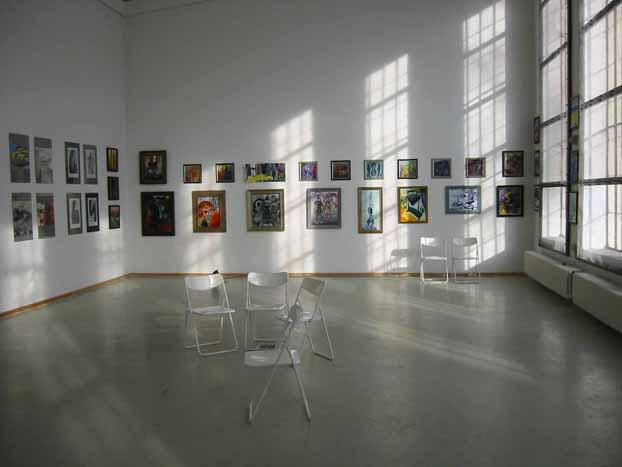ORANGERIE ENGLISCHER GARTEN Ausstellung Gundula Gentzsch
